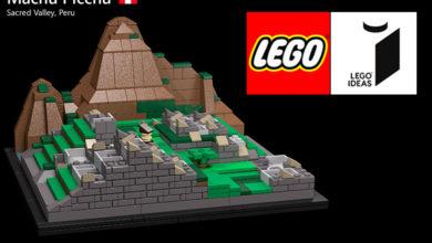 Photo of Machu Picchu a punto de ingresar al mundo LEGO®