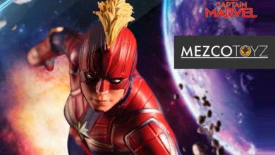 Photo of Mezco Toyz oficializa su figura para coleccionistas de Capitana Marvel
