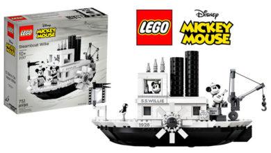 Photo of ¡Todos a bordo! LEGO®  y el 90° aniversario de Mickey Mouse