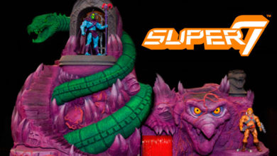 Photo of Impresionante set de Super 7 «MOTU Snake Mountain»