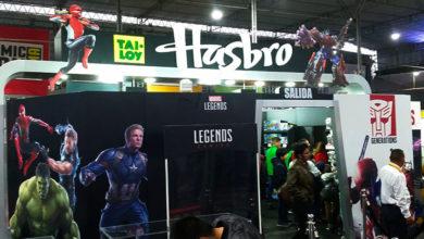 Photo of Visitamos el stand de Hasbro en la ComicCon Lima 2019