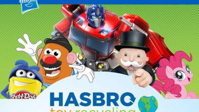 Photo of Hasbro amplía su éxitoso programa de reciclaje a Francia, Alemania y Brasil