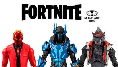 Photo of McFarlane Toys anuncia nuevos personajes en su línea Fornite