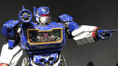 Photo of Prime 1, muestra una espectacular escultura de Soundwave