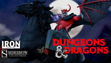 Photo of Iron Studios y Sideshow Collectibles revelan figura de Venger (Calabozos & Dragones)