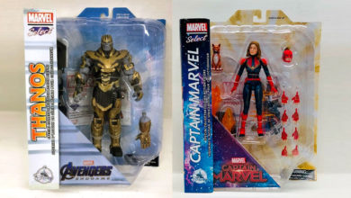 Photo of Diamond Select presenta figuras exclusivas de «Avengers: Endgame»