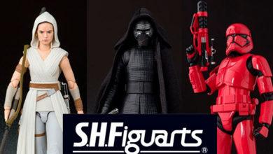 Photo of Bandai anuncia 3 figuras de Star Wars: The Rise of Skywalker en su línea S.H. Figurarts
