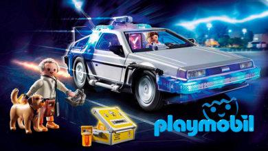 """Photo of Imágenes del DeLorean de Playmobil, sacuden a los fanáticos de """"Volver al futuro"""""""