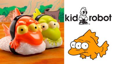 Photo of Kidrobot presenta figura de un suculento «Sushi de Blinky»