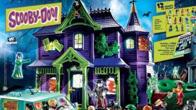 Photo of Se filtra imagen de lo que sería el set «Playmobil Scooby Doo Mansión encantada»