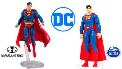Photo of Spin Master y McFarlane Toys muestran sus primeras figuras con la licencia de DC Comics