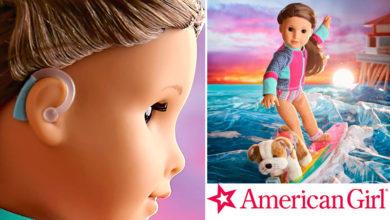 Photo of Una pequeña con discapacidad auditiva es elegida «Chica del año» de American Girl