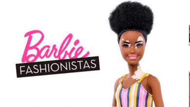 Photo of Mattel presenta una Barbie con vitiligo y otra sin cabello
