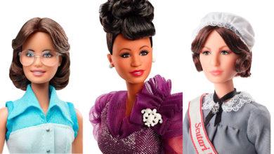 Photo of Tres nuevas mujeres icónicas para la línea «Barbie: Inspiring Women»