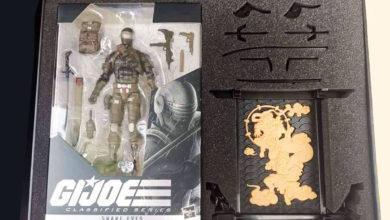 Photo of Primeras imágenes de la línea «G.I Joe Classified series»