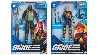 Photo of Dos nuevas figuras anunciadas para «G.I Joe Classified series»