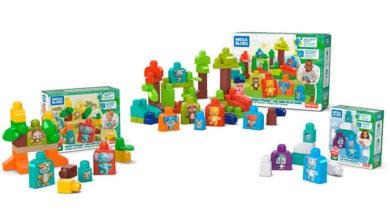 Photo of Mattel anuncia nuevos juguetes ecológicos para su marca Mega Bloks