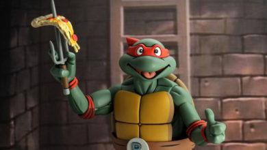 Photo of NECA presenta nueva figura «jumbo» de las Tortugas ninja