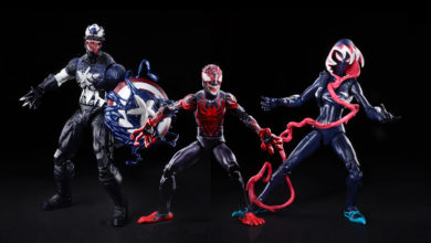 Photo of Hasbro en la Toy Fair 2020. VENOM