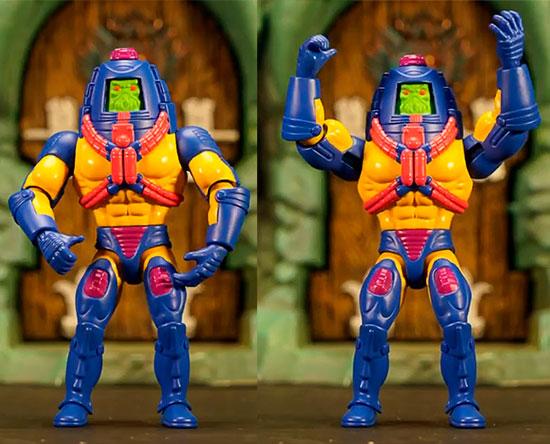 Mattel publica la primeras vistas de Man-E-Face