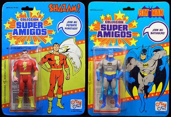 Dos figuras de acción de Super Amigos