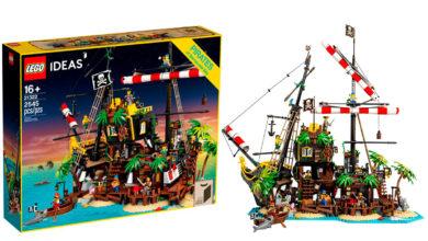 Photo of LEGO lanzará una nueva versión de «Black Seas Barracuda»