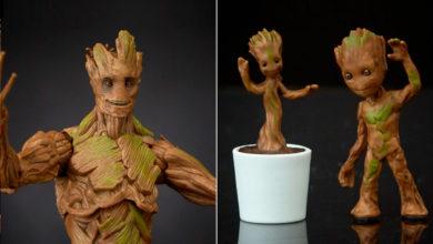 Photo of Hasbro presenta la evolución de Groot en Marvel Legends