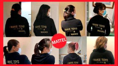 Photo of Mattel realiza una importante donación de mascarillas para enfrentar al Covid-19