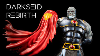 Photo of XM Studios presenta estatua de Darkseid