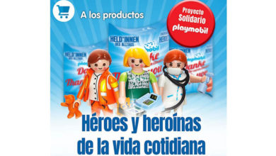 Photo of Playmobil lanza 3 «figuras solidarias» a favor de la Cruz Roja