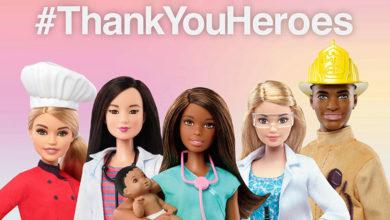 Photo of Barbie se une al programa #ThankYouHeroes
