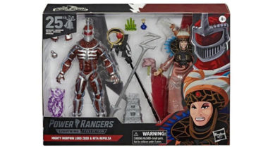 Photo of Hasbro presenta el empaque de «La boda Lord Zedd y Rita Repulsa»