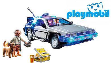 """Photo of Playmobil cumple sueño de los fans de """"Volver al Futuro"""""""