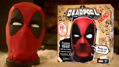 Photo of Hasbro anuncia la cabeza animatrónica de Deadpool
