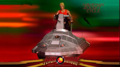 Photo of Un nuevo vehículo para la línea de «Flash Gordon 40° Aniversario»