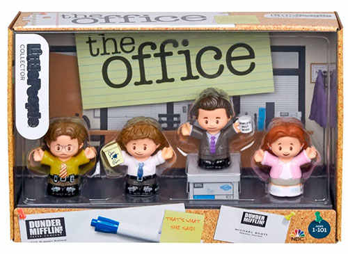Little People Collector The Office figure set