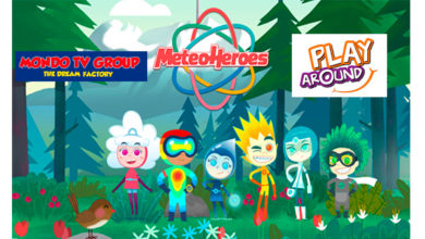 Photo of Mondo Tv y Play Around, anuncian acuerdo para crear juguetes de MeteoHeroes