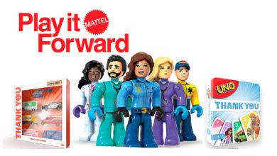 Photo of Mattel amplía las marcas en su iniciativa #ThankYouHeroes