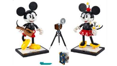 Photo of LEGO Mickey Mouse & Minnie Mouse Set 43179