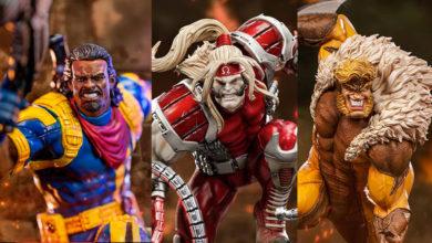 Photo of 3 esculturas para «X-Men Battle Diorama» de Iron Studios