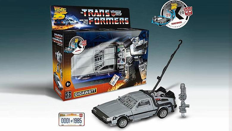 Gigawatt-Transformer-DeLorean