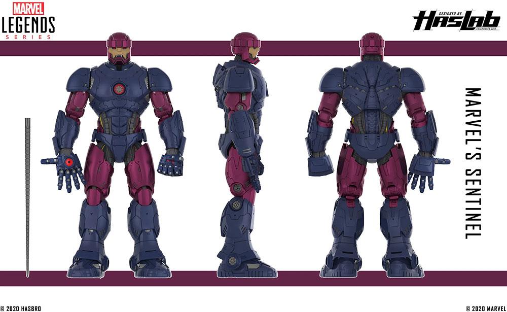 Sentinel Hasbro esquema