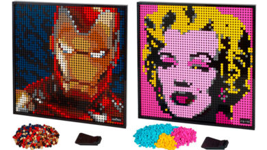 Photo of LEGO Art, una nueva experiencia artística para adultos