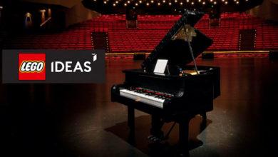 Photo of LEGO® IDEAS Grand Piano, el primer set de LEGO capaz de hacer música