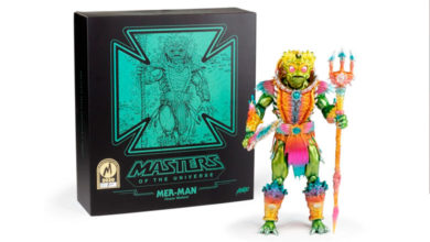 Photo of Mondo y su exclusiva figura Sofubi de Mer-Man
