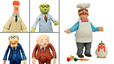 Photo of Diamond Select lanza serie 2 de su línea de los Muppets