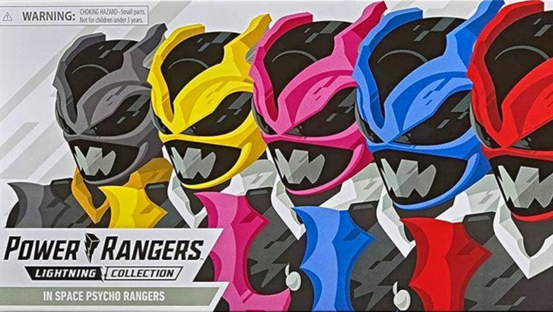 Psycho Rangers Hasbro