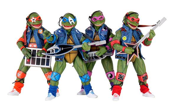 TMNT Musical Mutagen Tour 4 Pack,