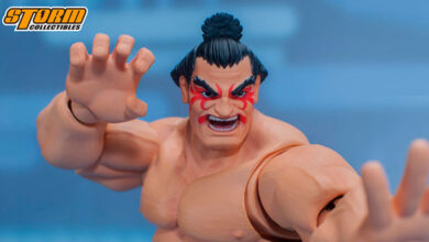 Photo of Storm Collectibles muestra detalles de su figura de E. Honda de Street Fighter V