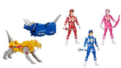 Photo of Hasbro presentó algunas novedades con los Power Rangers Migthy Morphin